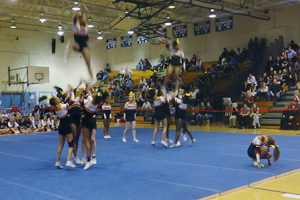 North Point Cheer Looks for a County Title