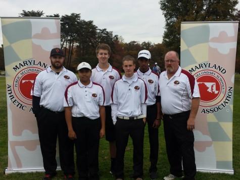 Varsity Golf Team County Champion