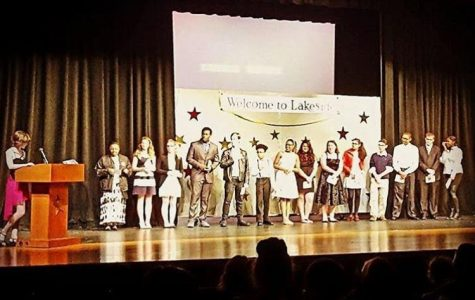 Thespian Awards Show (And Inductions)