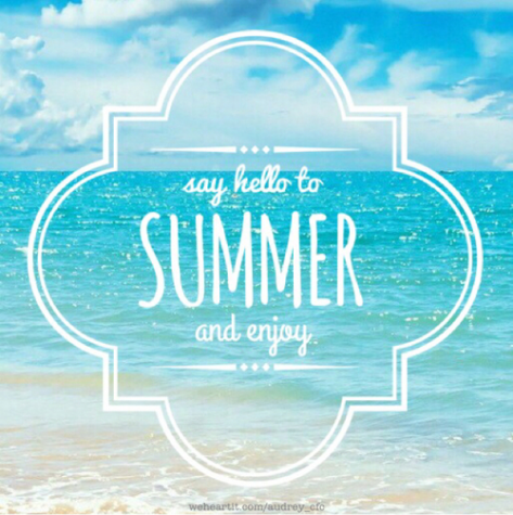 "Say ""Good-bye"" To School, and Say ""Hello"" To Summer"
