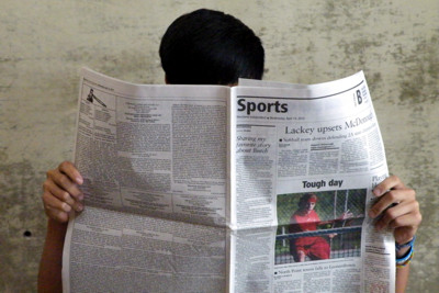 We Have a Newspaper?