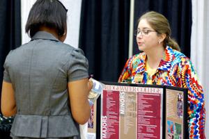 Students and Parents Explore College Fair