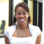 """I'm expecting to get accepted in to a good college."" -Kiki Griffith ('11)."