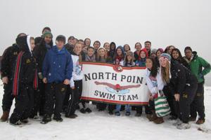 Swim Team Takes a Polar Plunge