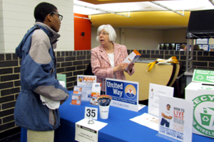 North Point Students and Parents Attend Volunteer Fair