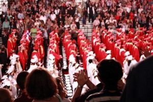 North Point Parts With the Class of 2011 in a Ceremony to Remember