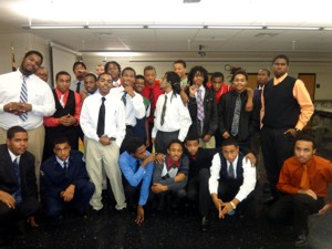 New Program, New Attitudes, New Men: Young Men of Distinction