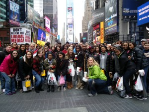 Spanish Students Venture to New York City