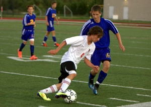 Boys Varsity Soccer Hits the Turf