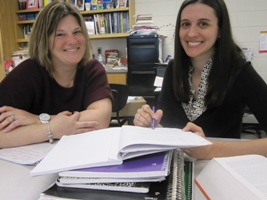The AP Literature Dynamic Duo: Ms. Kirby and Ms. Smith
