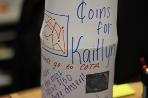 Making Change: Coins for Kaitlyn