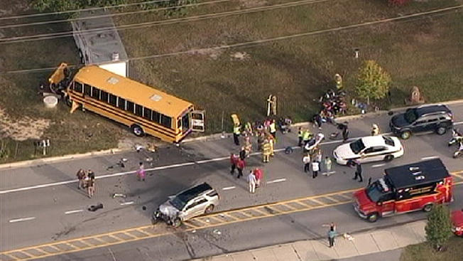 The+Safety+of+School+Buses