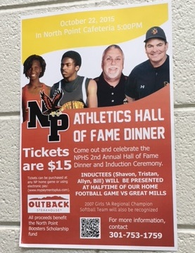 North Point Athletics Hall of Fame Dinner