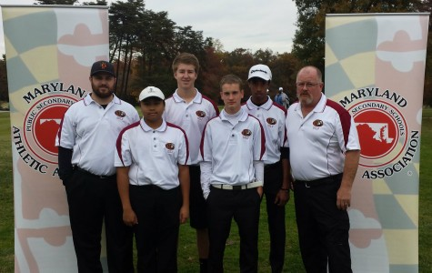 Varsity Golf Team County Champion