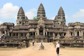 Angkor Wat, the third most beloved landmark according to TripAdvisor.
