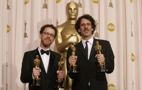 Ethan Coen, left, and Joel Coen won four Academy Awards during the 80th annual Academy Awards at the Kodak Theatre in Hollywood, California, Sunday, February 24, 2008. (Daniel A, Anderson/Orange County Register/MCT)