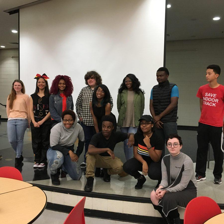 Poetry Slam Participants