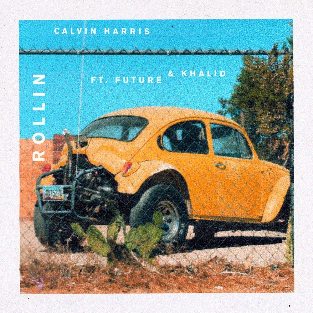 Calvin Harris is Rollin