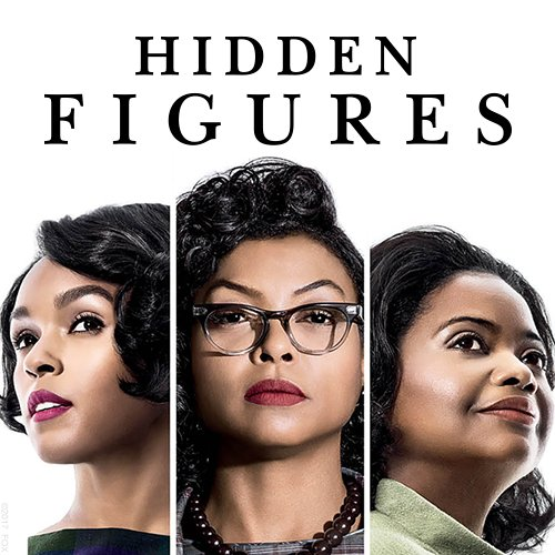 From left to right: Janelle Monae, Taraji P. Henson, Octavia Spencer